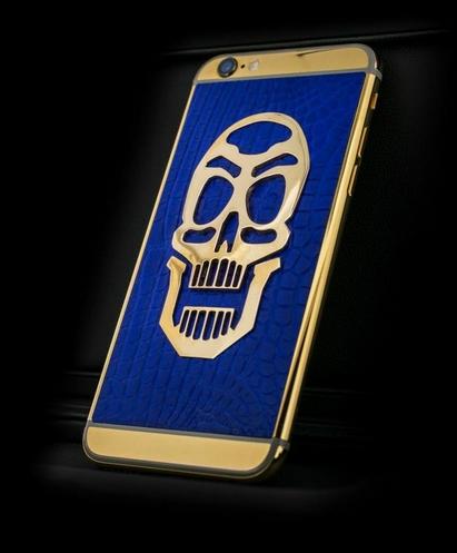 golden dreams luxury iphone6 -Masterpieces Skull Edition