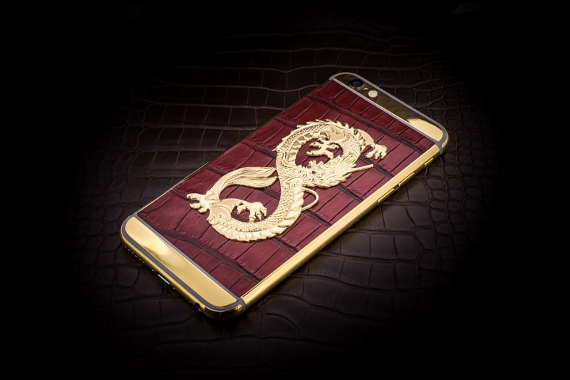 Golden Dreams Unveiled Today at Baselworld the World's Most Luxurious iPhone 6 Collection