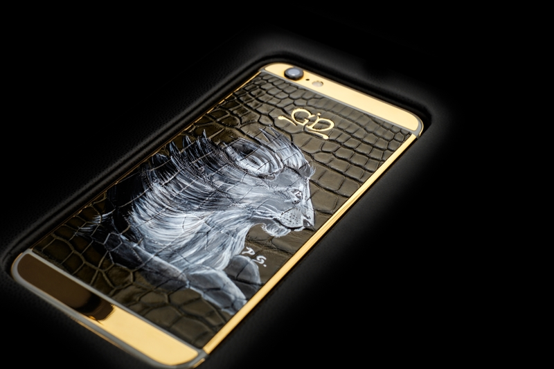 golden dreams luxury iphone6 lion -