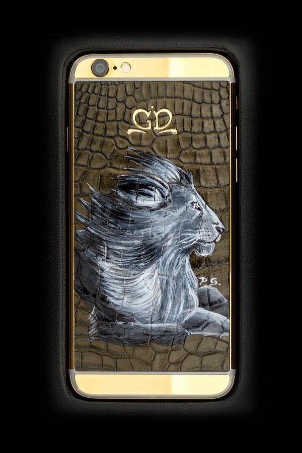 golden dreams luxury iphone6 lion