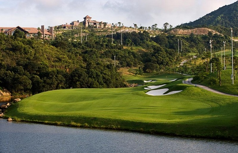 golfing in shenzen