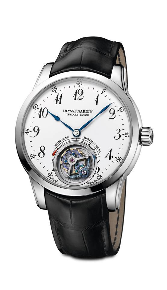 gphg 2015-Tourbillon Watch Prize Ulysse Nardin Ulysse Anchor Tourbillon