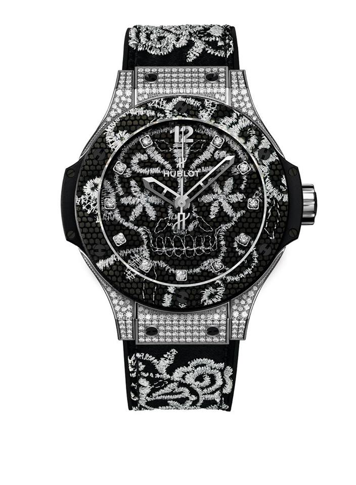 gphg 2015- the winners-Ladies' Watch Prize - Hublot Big Bang Broderie