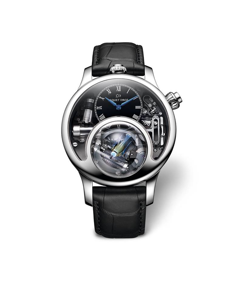 gphg 2015- the winners-Mechanical Exception Watch Prize Jaquet Droz The Charming Bird