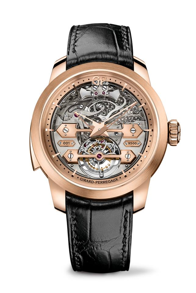 gphg 2015- the winners-Striking Watch Prize - Girard-Perregaux Minute repeater Tourbillon with Gold Bridges