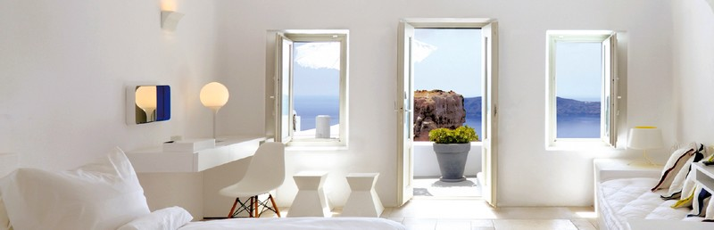 grace hotel santorini greece-rooms with a view