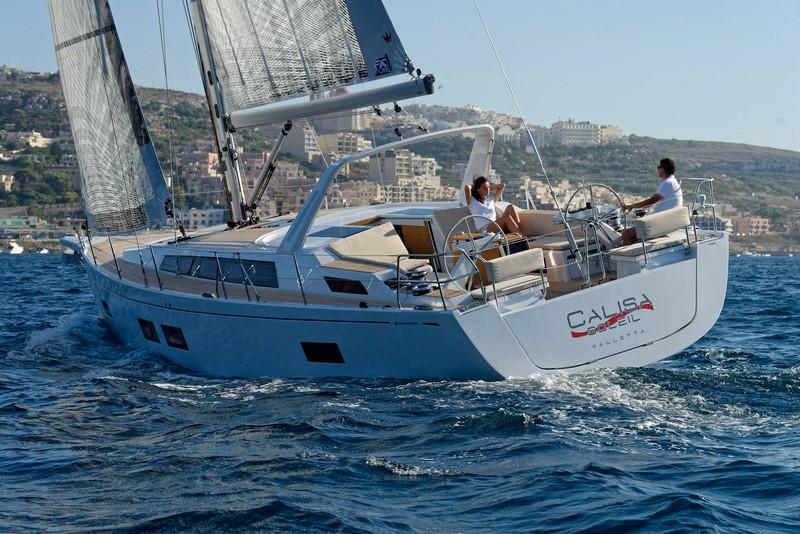 grand soleil - GS46LC sea trail in Malta