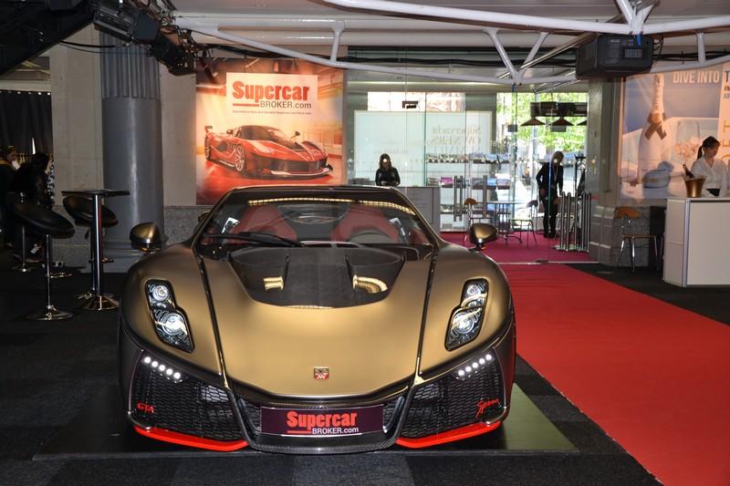 gta spano supercar debut London