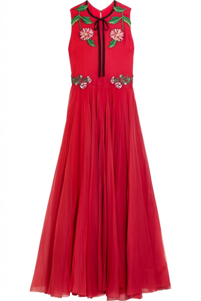 gucci for net a porter capsule collection dress 2016