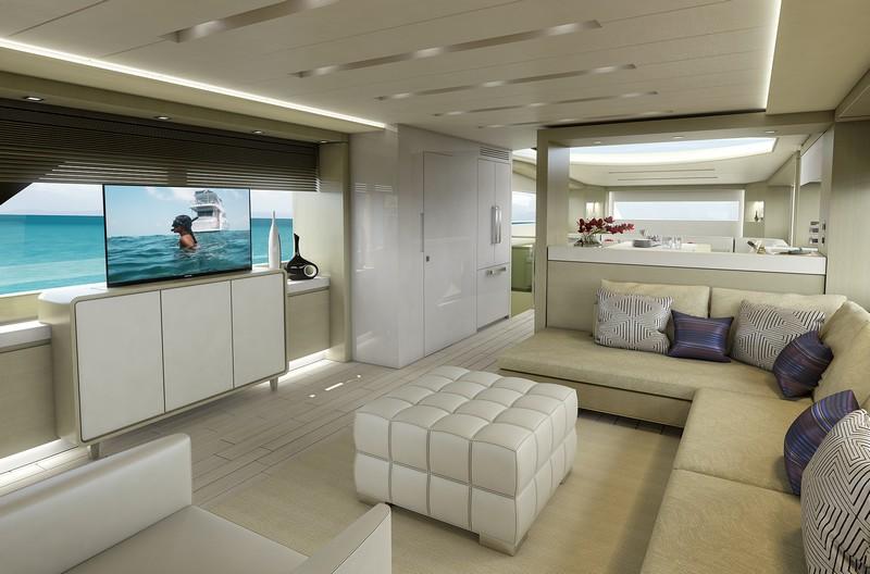 hatteras yachts-interior