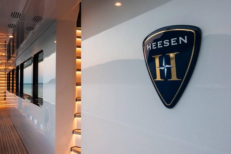 heesen yachts logo