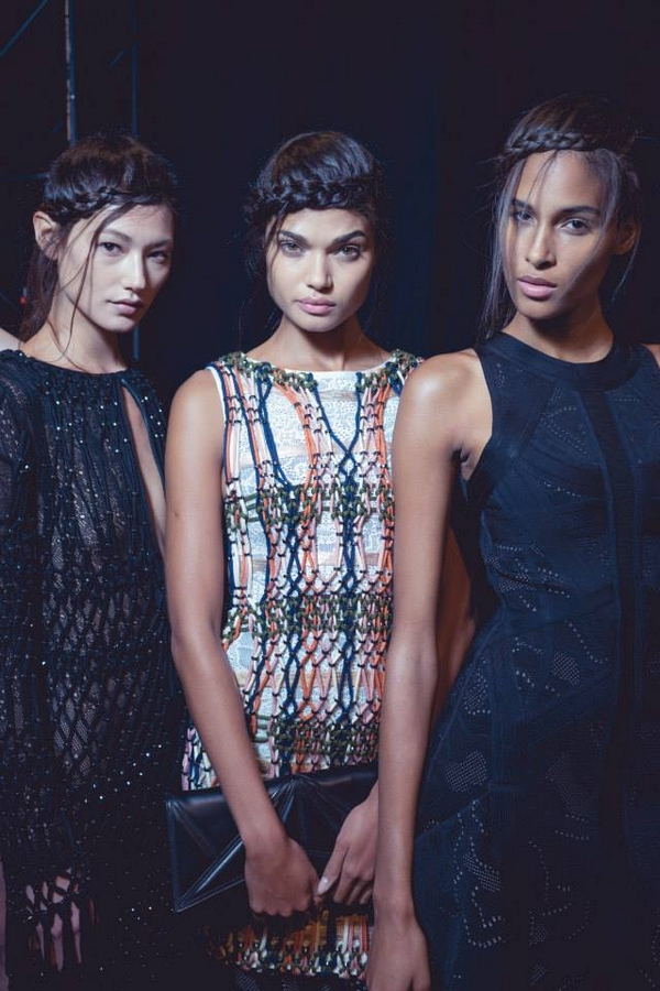 herve leger behind the scenes ss2016