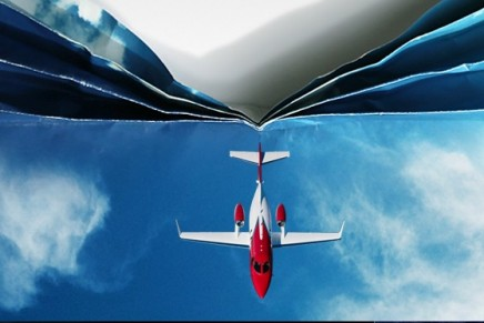 The world's most advanced light jet sets two speed records