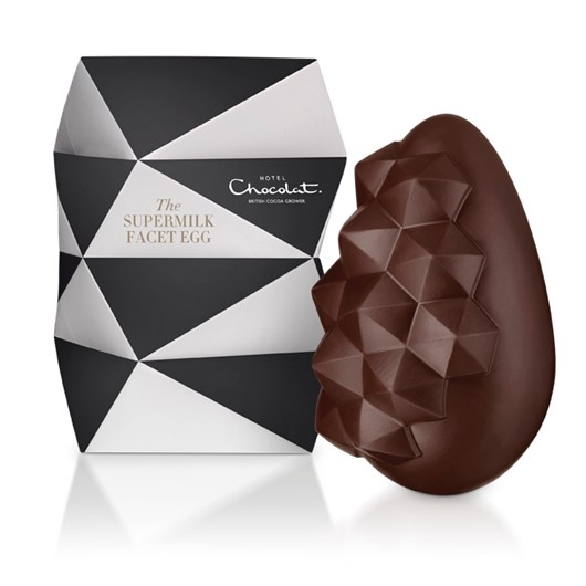 hotel chocolat Supermilk Facet Egg