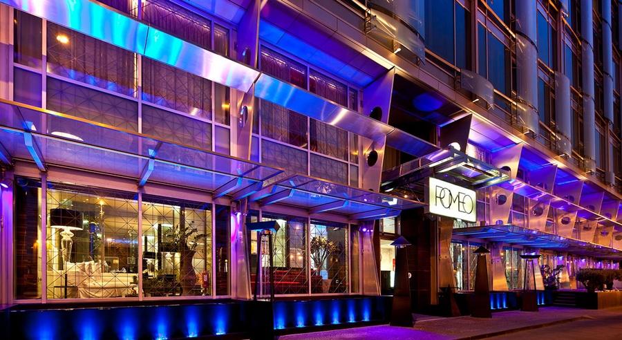 hotel romeo naples italy