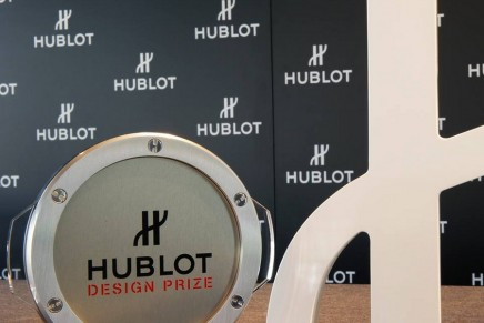The inaugural Hublot Design Prize to be awarded during 2015 Tokyo Design Week