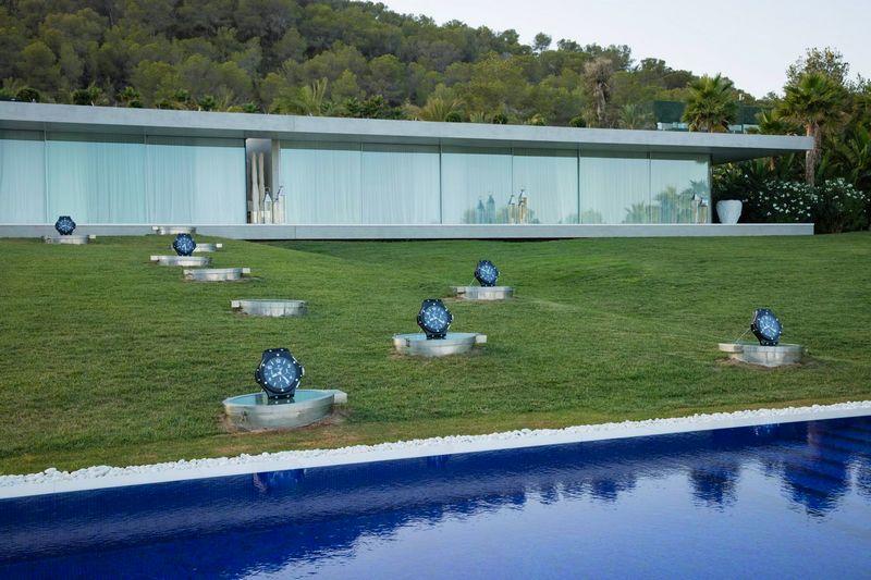 hublot ibiza villa titanium