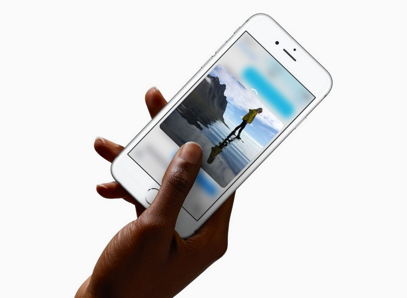 iPhone 6S 3D Touch--apple