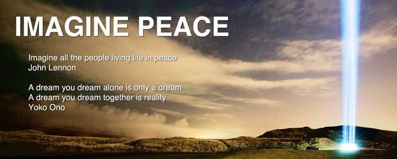 imagine peace- yoko ono