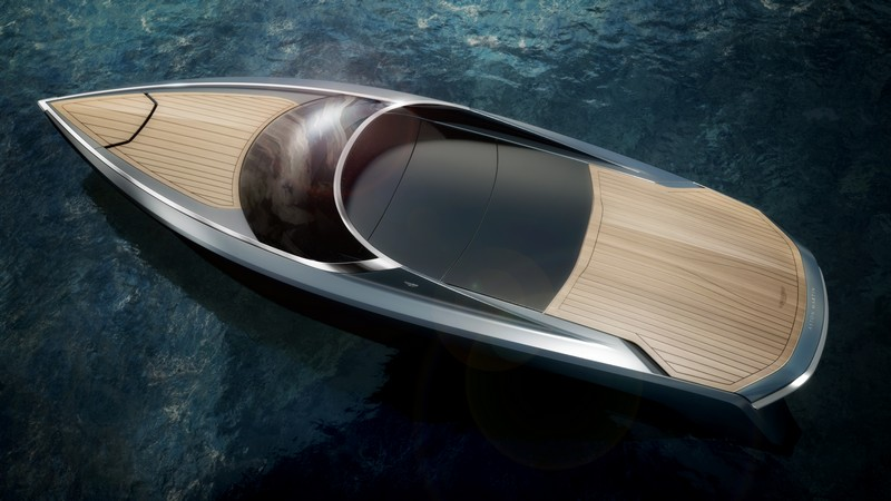 interior-side First powerboat developed by Aston Martin and Quintessence Yachts--