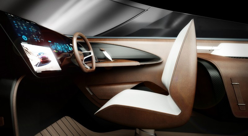 interior-side First powerboat developed by Aston Martin and Quintessence Yachts