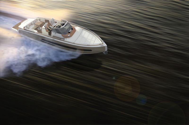 invictus yachts 370gt-birdsview
