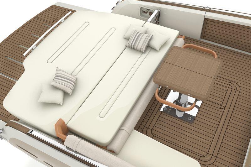 invictus yachts 370gt-interior design
