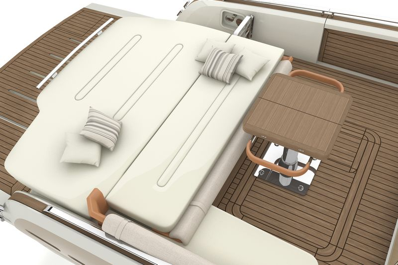 invictus yachts 370gt-interior design