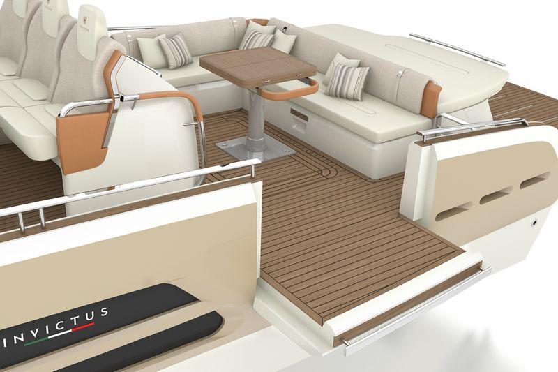 invictus yachts 370gt-interior