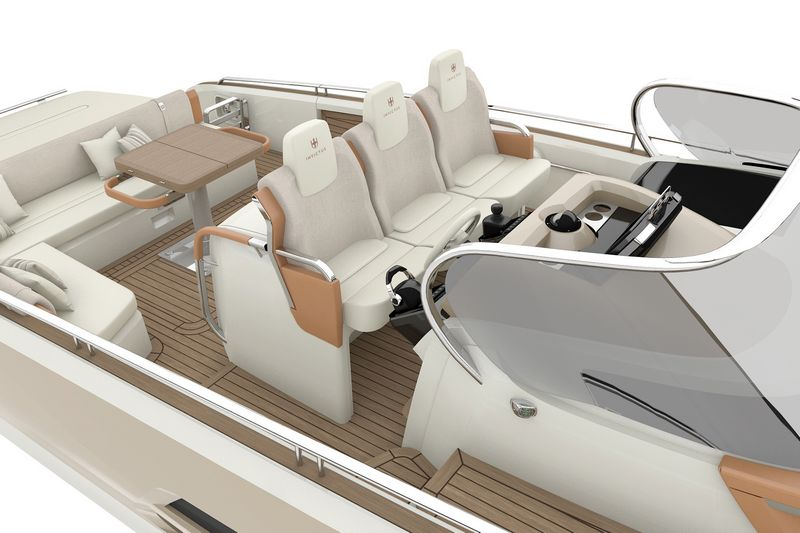 invictus yachts 370gt