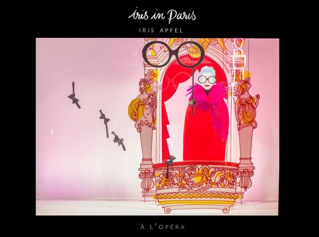 iris in paris le bon marche 2016 exhibition-