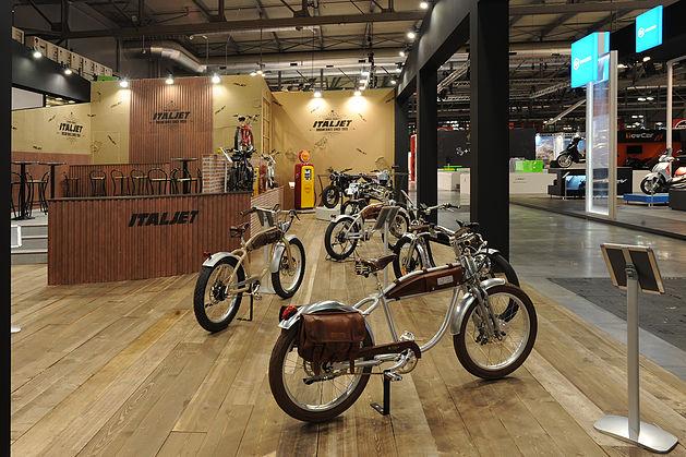 italjet new e-bikes and motorcycles 2015 EICMA