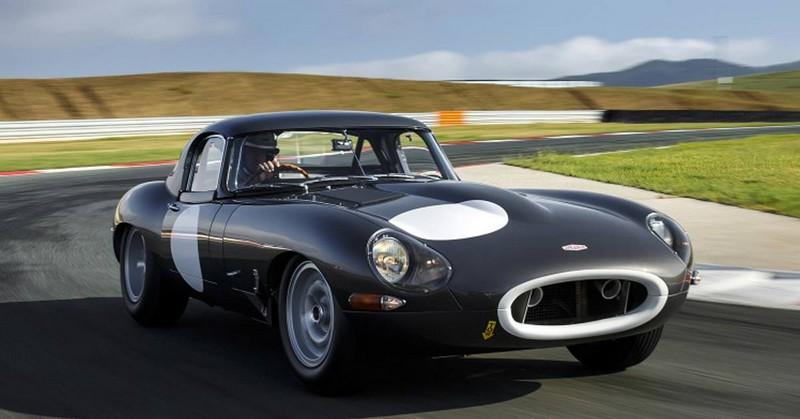 jaguar ligjhtweight e-type