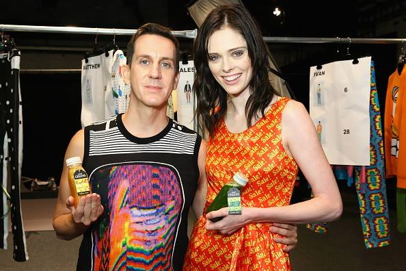 jeremy scott Backstage with Coco Rocha NYFW spring summer shows 2016