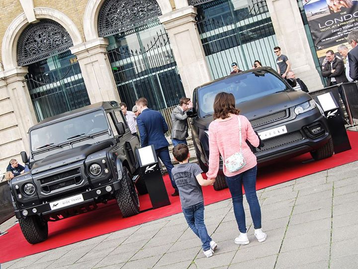 kahn design rovers for  the London Yacht, Jet and Prestige Car show-