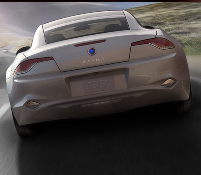 2017 Karma Revero Luxury Hybrid Automobile