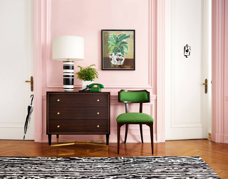 kate spade new york debuts furniture, lighting, rugs and fabric collection-