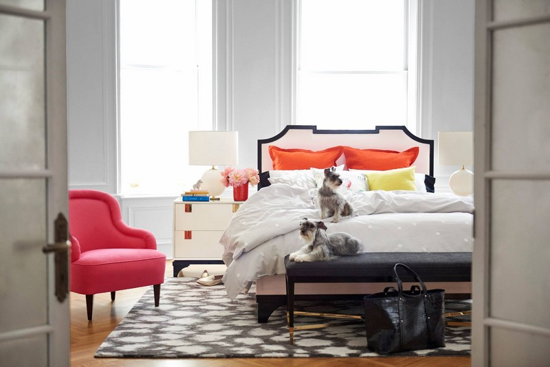 kate spade new york debuts furniture, lighting, rugs and fabric collection--