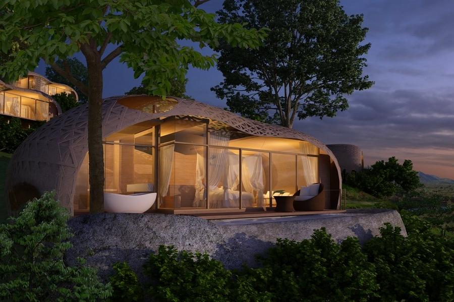 keemala luxury resort phuket thailand- birds nest