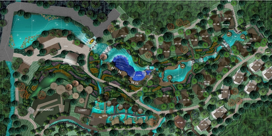 keemala luxury resort phuket thailand- keemala overall