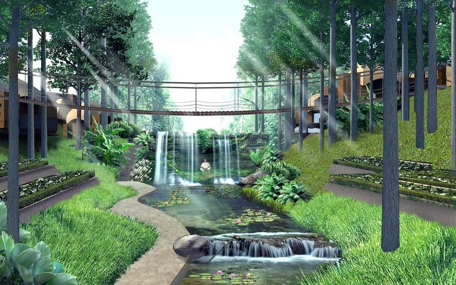 keemala luxury resort phuket thailand-the bridge