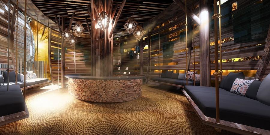 keemala luxury resort phuket thailand-the lobby