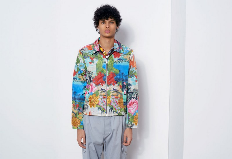 kenzo jungle book disney collection 2016- hawaii reversible jacket