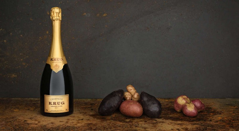 krug champagne - I say potato, you say potato-