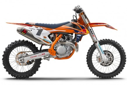 The 2017 KTM SX Factory Edition. The lightest and best performing bike in its class