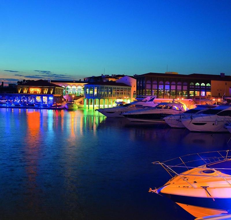 limassol marina 2015 by night