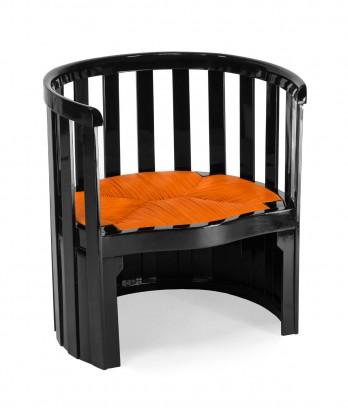 loewe marquetry in leather oak furniture