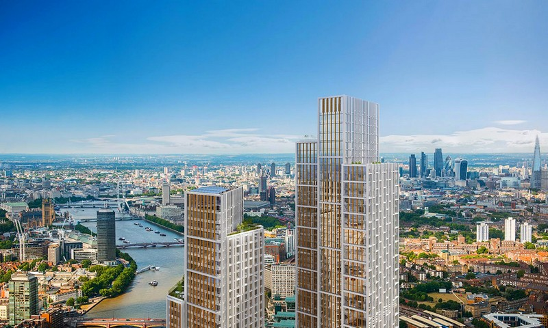 london luxury towers 2015