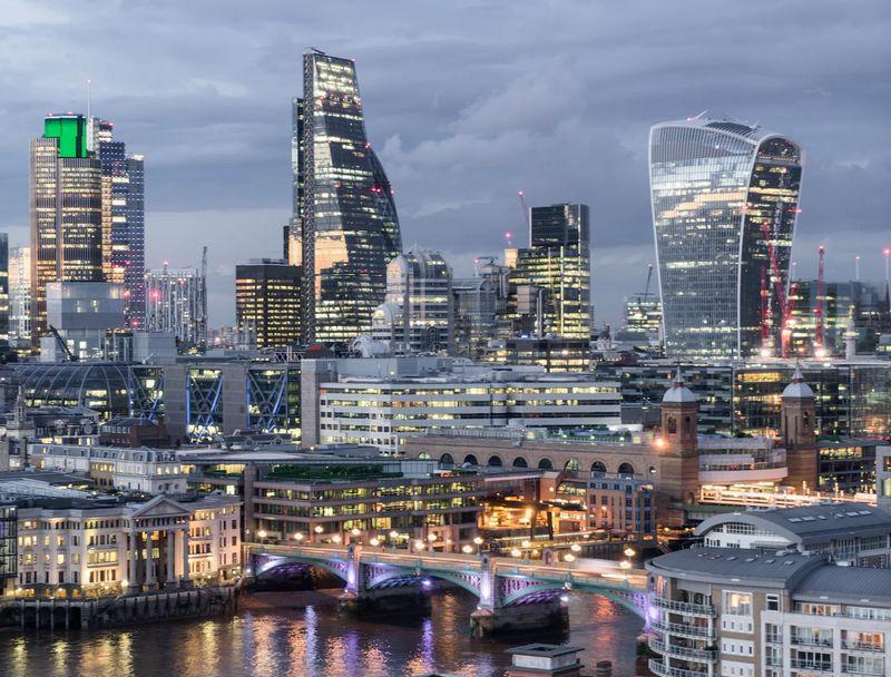 london skyline skycrapers 2016