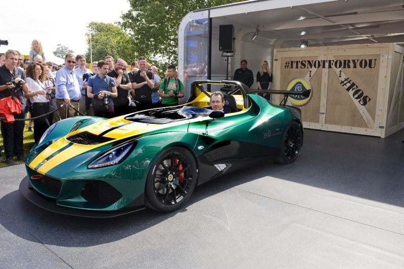 lotus at goodwood festival of speed 2015 - Lotus unveils the all new 3-eleven-